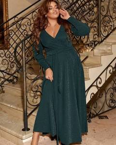 Платье длинное нарядное А57830