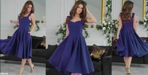 Платье короткое коктейльное Я4294