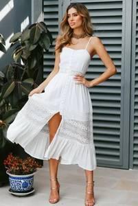 Платье короткое белое Я5635