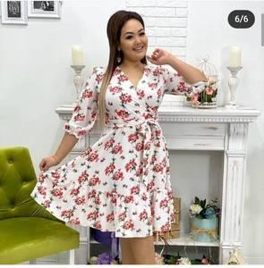 Платье короткое современное Я9167