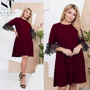 Платье короткое нарядное Я4332