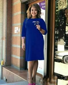 Платье короткое нарядное Ч4215