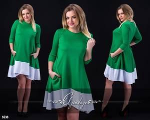 Платье короткое вечернее Ч5025