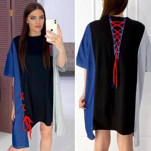 Платье короткое повседневное Я8581