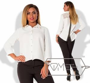 Рубашка белая Я3273