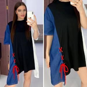 Платье короткое повседневное Я8582