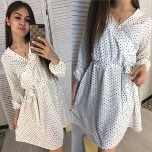 Платье короткое современное Я7959