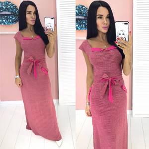 Платье длинное летнее А00288