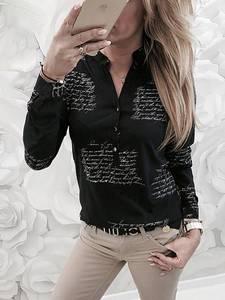 Блуза с длинным рукавом А27329