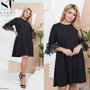 Платье короткое нарядное Я4333