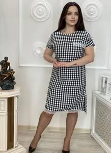 Платье короткое повседневное А30635