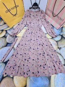 Платье длинное нарядное А55082
