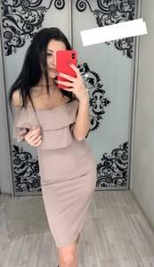 Платье короткое нарядное облегающее Х7706