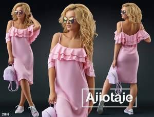 Платье короткое летнее Я1473