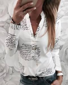 Блуза с длинным рукавом А27330