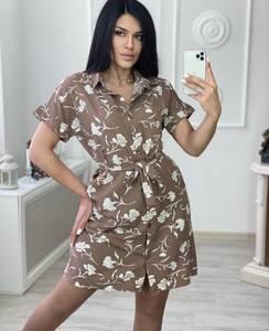 Платье короткое летнее А31301