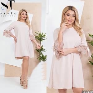 Платье короткое нарядное Я4334
