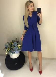 Платье короткое классическое Ш6807