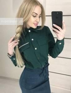 Рубашка однотонная Я7510