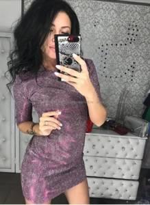 Платье короткое нарядное Ш7941