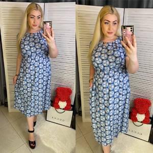 Платье длинное летнее Я7951