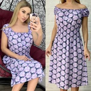 Платье короткое летнее Я1972