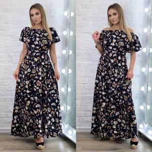 Платье длинное летнее А34435