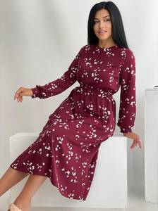Платье длинное нарядное А55086