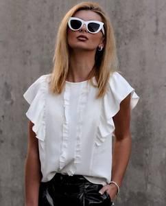 Блуза с коротким рукавом Ю9872