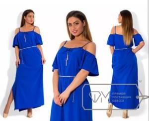 Платье короткое летнее Я1476