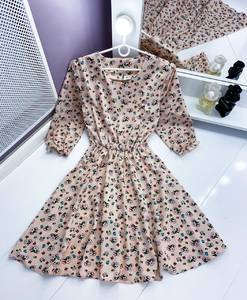 Платье короткое нарядное Я1750