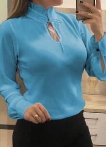Блуза с длинным рукавом А27820