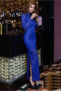 Платье длинное нарядное Я0033