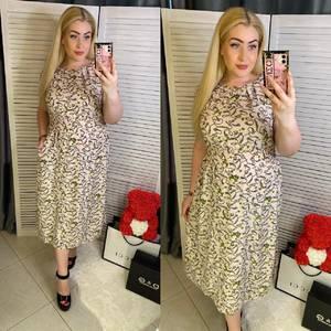 Платье длинное летнее Я7953