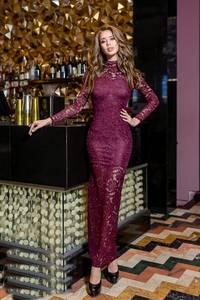 Платье длинное нарядное Я0034