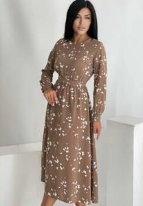 Платье длинное нарядное А55088