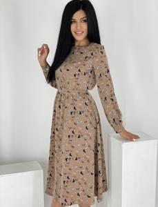 Платье длинное нарядное А55089