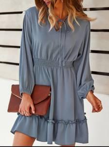 Платье короткое современное А57869