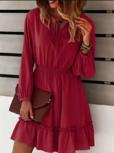 Платье короткое современное А57870