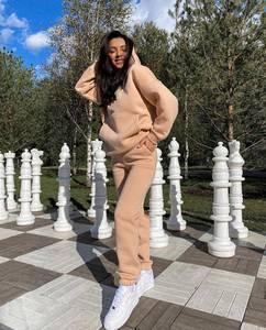 Костюм на флисе модный А57897