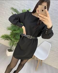 Платье короткое современное А57901