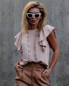 Блуза с коротким рукавом Ю9873