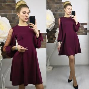 Платье короткое нарядное современное Х8943