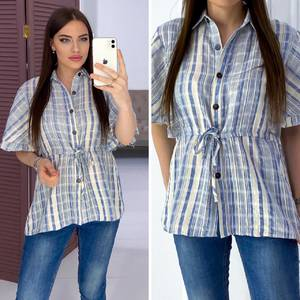Рубашка с коротким рукавом Я7163