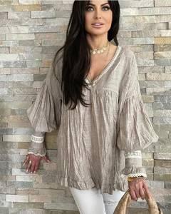 Блуза с длинным рукавом А31779