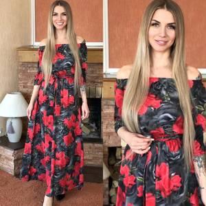 Платье длинное нарядное Я0112