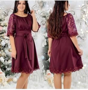 Платье короткое нарядное Я1939