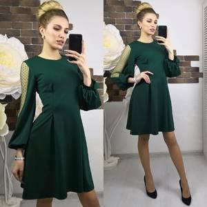 Платье короткое нарядное современное Х8944