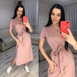 Платье длинное летнее Я8586