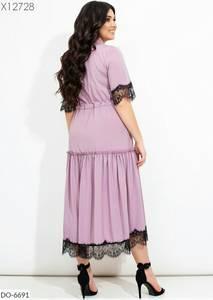 Платье длинное нарядное А26356